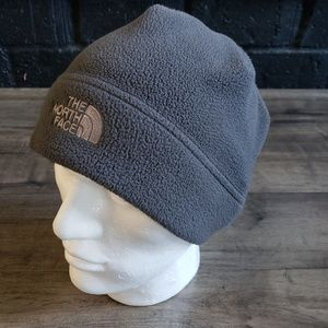 The North Face Gray Fleece Beanie